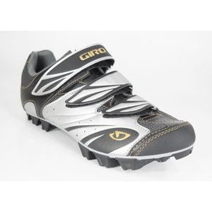 GIRO Riela MTB Women's Black Cycling Shoes 39 NEW